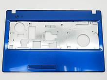 Корпус для ноутбука Lenovo G580, G585 (Версія 2) Metalic Blue. (Кришка клавіатури). Оригінальна нова