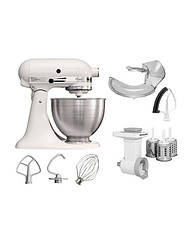 Тестомес, кухонный комбайн KitchenAid Classic 4,28 л | белый, фото 2