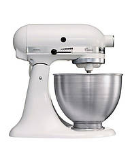 Тестомес, кухонный комбайн KitchenAid Classic 4,28 л | белый, фото 3