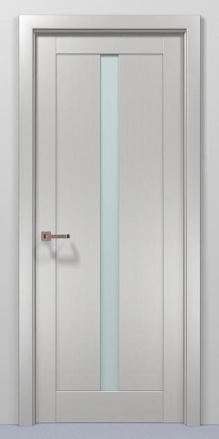 Двері Папа Карло Optima 01 клен білий 2000х710х40мм
