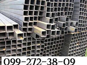 Труба профильная бесшовная 40х40х5,  ( сталь 20 , сталь 09Г2С)