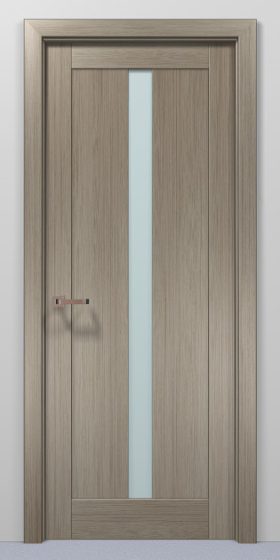 Двери Папа Карло Optima 01 клен серый 2000х810х40мм
