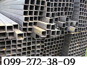 Труба профильная бесшовная 40х40х4,  ( сталь 20 , сталь 09Г2С)