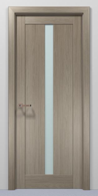Двери Папа Карло Optima 01 клен серый 2000х910х40мм