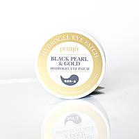 Гидрогелевые патчи с коллоидным золотом и черным жемчугом Black Pearl & Gold Hydrogel Eye Patch Petitfee