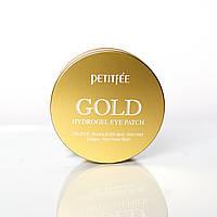 Гидрогелевые патчи для глаз с золотым комплексом +5 Petitfree +5 Gold Hydrogel Eye Patch