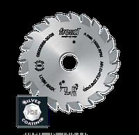 Пила дисковая по ДСП Freud LI16M BB3- подрезная двухкорпусная 100*2,8-3,6*22*Z12+12