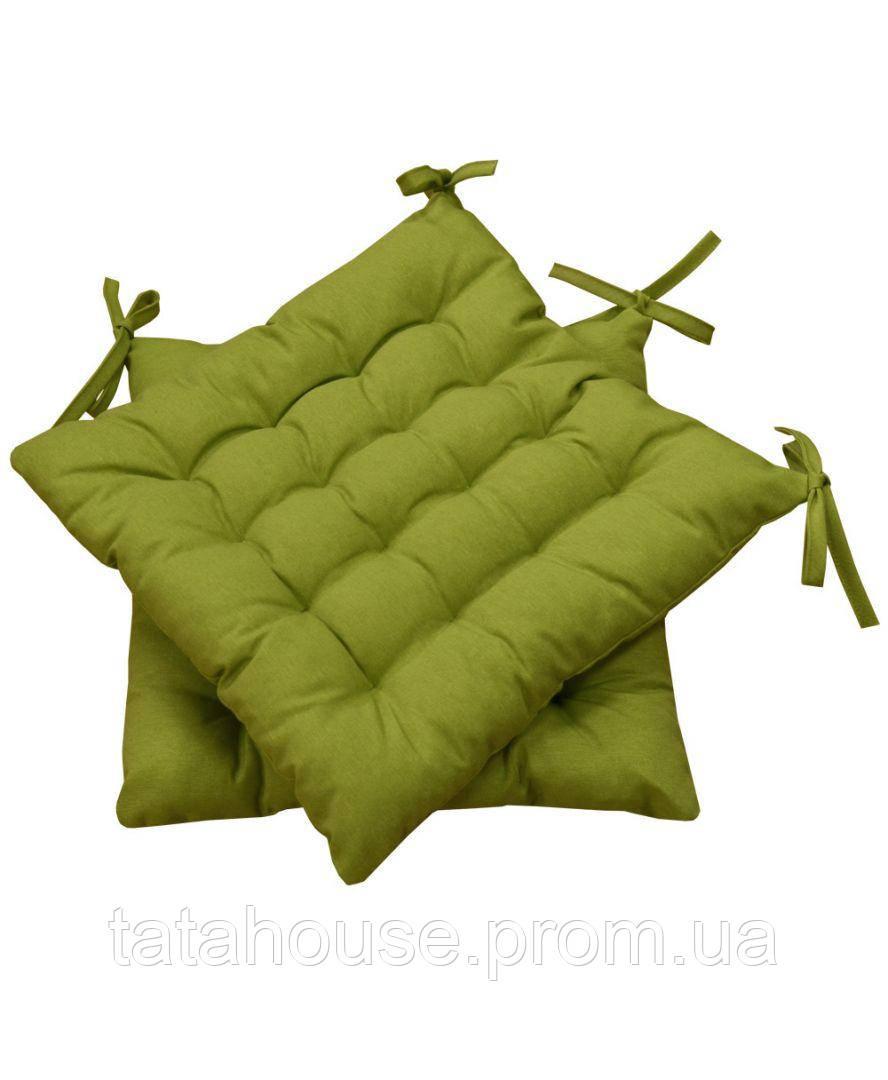 Подушка на стул MODENA зеленая, 40х40