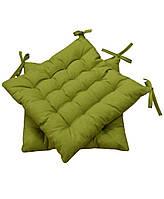 Подушка на стул зеленая MODENA, 40х40 см