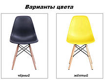 Обеденный стул Жаклин, пластик пудра (Richman ТМ), фото 3