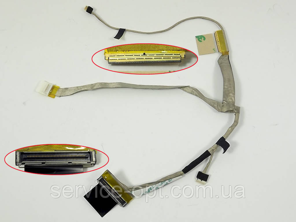 Шлейф матрицы для ноутбука Lenovo S10-3 (DD0FL5LC000 QTFL5-ESL0206A) 40Pin