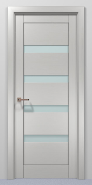 Двери Папа Карло Optima 02 клен белый 2000х710х40мм
