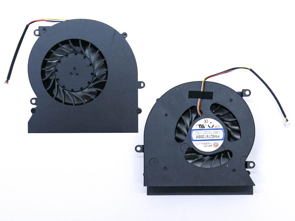 Вентилятор (кулер) для MSI GT62, GT62VR (PABD19735BM)