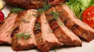 Запечена з соєвим соусом свинина
