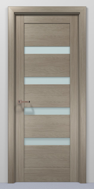 Двери Папа Карло Optima 02 клен серый 2000х610х40мм