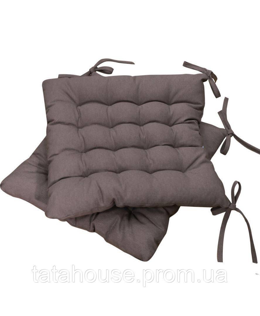 Подушка на стул MODENA коричневая, 40х40