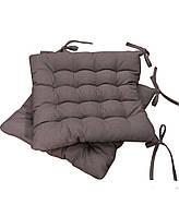 Подушка на стул коричневая MODENA, 40х40 см
