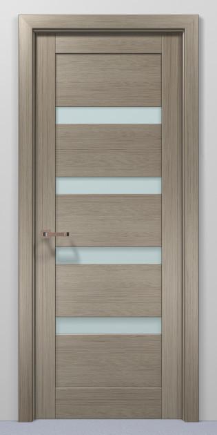 Двери Папа Карло Optima 02 клен серый 2000х910х40мм