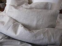 Комплект постельного белья, полулен 110х140, серый