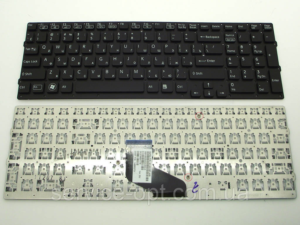 Клавиатура для ноутбука Sony VPC-F219FC, VPCF217, VPCF219 Series ( RU Black )