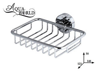 Мыльница решётка настенная Aqua-World КСА007.08