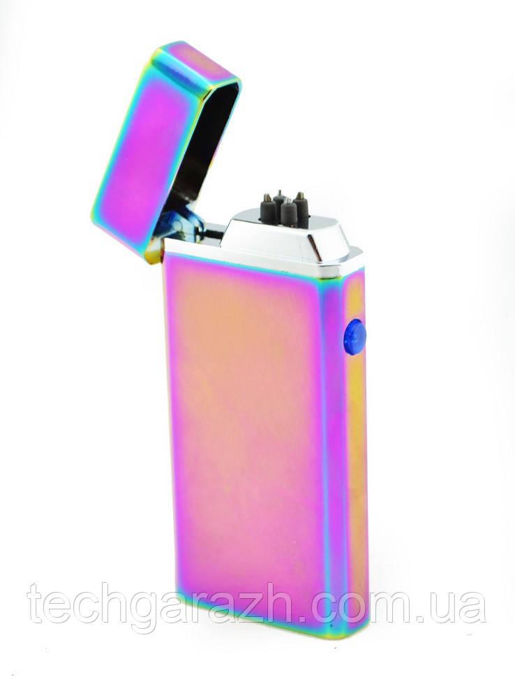 Электроимпульсная microUSB зажигалка Jinlun 612 (sp4285)