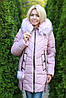 Зимняя женская куртка синяя, фото 7