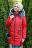 Зимняя женская куртка синяя, фото 8