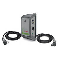 Зарядная станция Dual WallBox 2 кабель+конектор Т2х22кВт. R-Fid