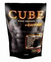 Протеин Power Pro Cube Whey Protein (1 кг) павер про куб вей протеин