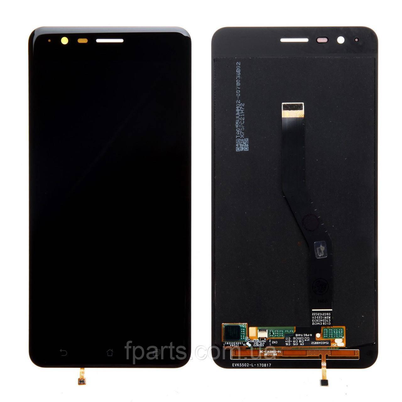 Дисплей для Asus ZenFone 3 Zoom (ZE553KL, Z01HD), с тачскрином Black