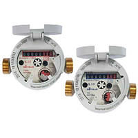 Счётчик одноструйный (квартирный) для горячей воды ResidiaJet - 120 Q3 2,5/40 - Sensus Ду15