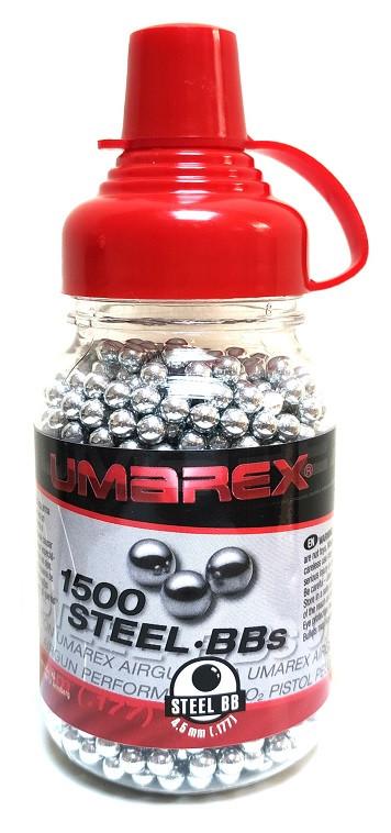 Шарики никелированные Umarex Quality BBs 4,5 мм (1500 шт)