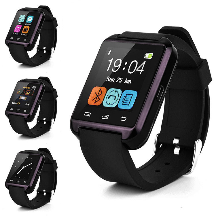Умные часы Smart Watch U8 Black