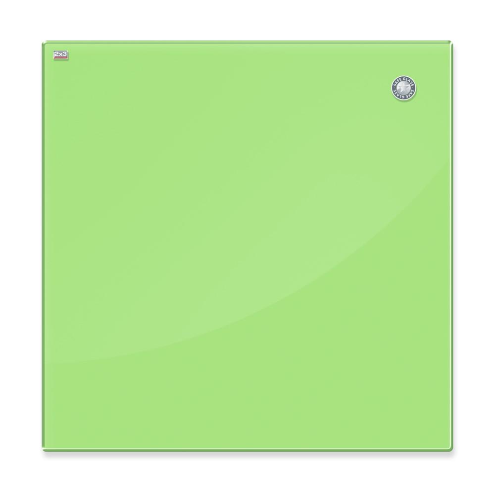 Доска стеклянная, маркерная – 600х400 мм; код – TSZ64 G (светло-зеленая) , фото 1