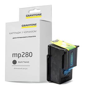 Совместимый картридж Canon Pixma MP280 (чёрный), стандартный ресурс (220 копий), аналог от Gravitone
