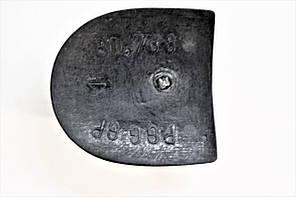 Каблук женский пластиковый 788 PGG р.1-3  h-2,1-2,5 см., фото 3