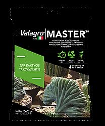 Комплексне мінеральне добриво для кактусів і сукулентів Master (Майстер), 25г, NPK 13.40.13