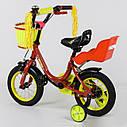 """Велосипед 12"""" дюймов 2-х колёсный 1294 """"CORSO"""" (1) новый ручной тормоз, корзинка, звоночек, сидение с ручкой, , фото 2"""