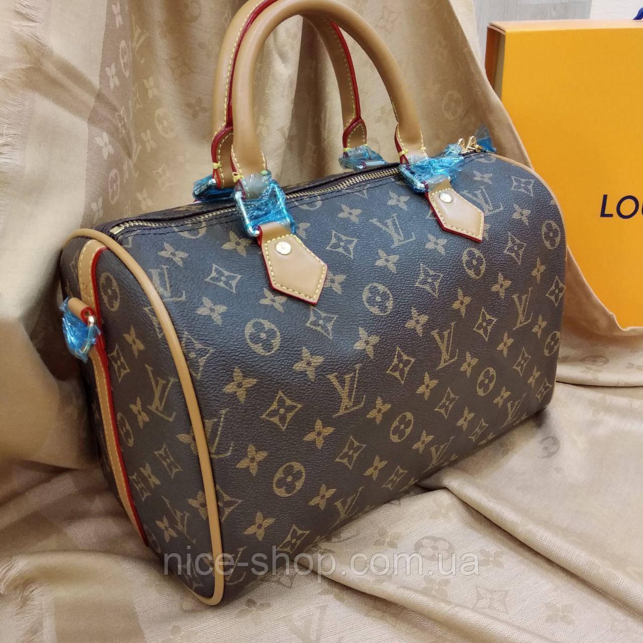 Сумка Louis Vuitton Speedy 30 см, монограмм, фото 1
