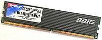 Игровая оперативная память Patriot DDR2 2Gb 667MHz PC2 5300U CL4 (PEP22G5300LL) Б/У, фото 1