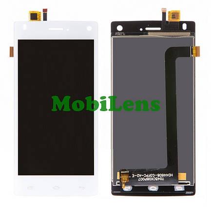 FLY FS452, Nimbus 2 Дисплей+тачскрин(модуль) белый, фото 2