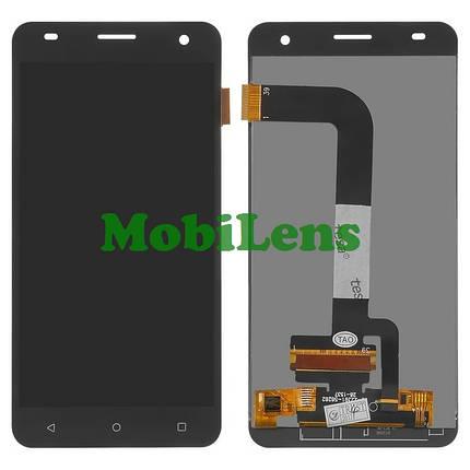 FLY FS504, Cirrus 2, Nоmi i504 Dream Дисплей+тачскрин(модуль) черный, фото 2