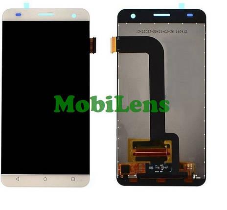 FLY FS504, Cirrus 2, Nоmi i504 Dream Дисплей+тачскрин(модуль) белый, фото 2