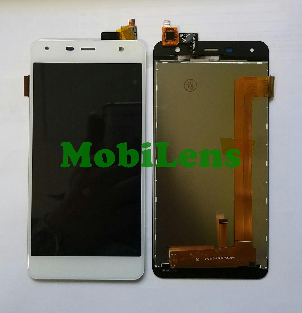 FLY FS517 Дисплей+тачскрин(модуль) белый