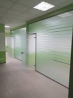 Стеклянные офисные перегородки 3