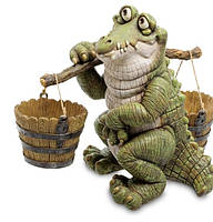 Кашпо Крокодил с коромыслом Sealmark GG-4743 LC