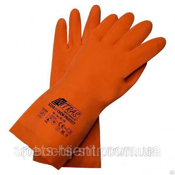 Перчатки кислотные защитные NITRAS КЩС