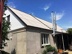 Место размещения наибольшего массива - южный скат крыши частного дома.
