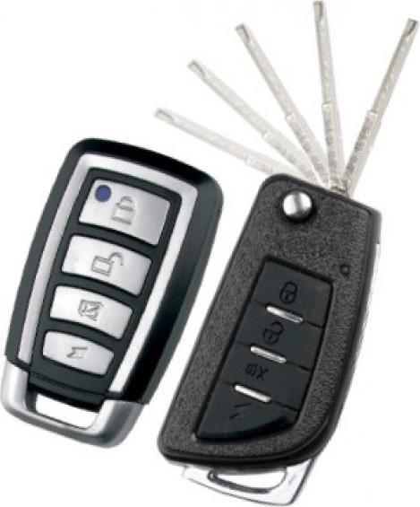 Автосигнализация Tiger Simple PLUS c выкидным ключом
